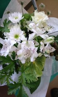お花もらいました(*^_^*)