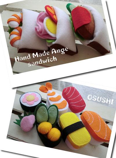 サンドイッチ&お寿司