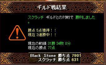 GV 結果黒石10月24日