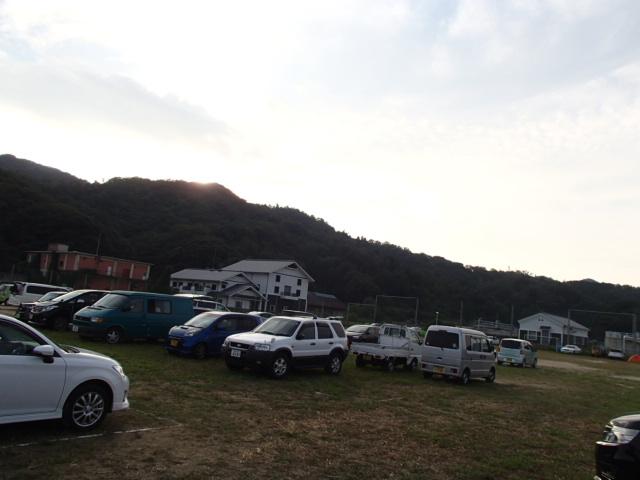 20130914選手用駐車場