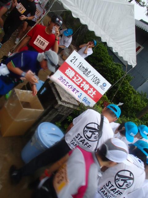 20130915磯辺神社エイドステーション1