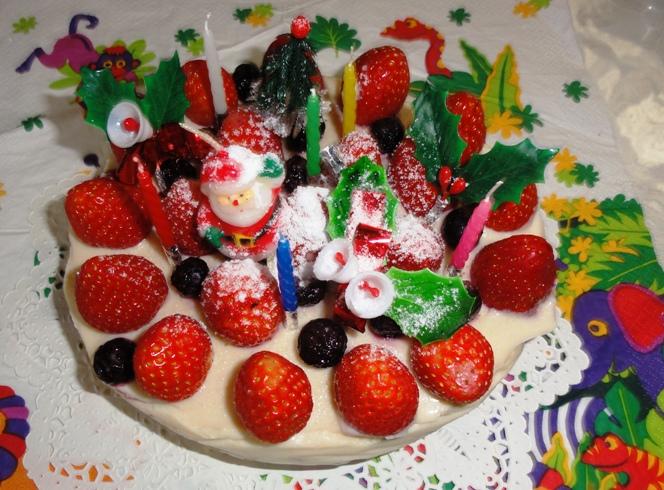 クリスマスケーキ2011