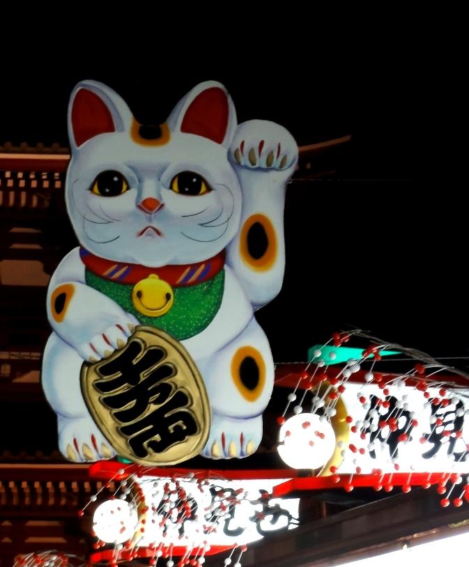 浅草寺招き猫a