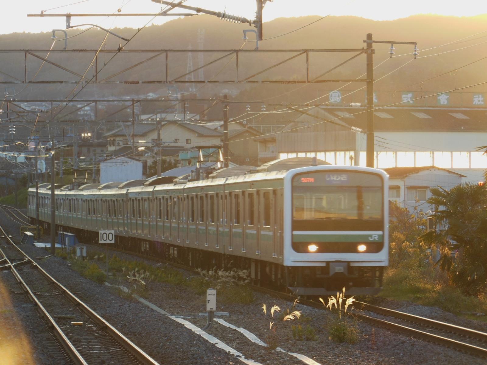 E501系 K702編成 常陸多賀