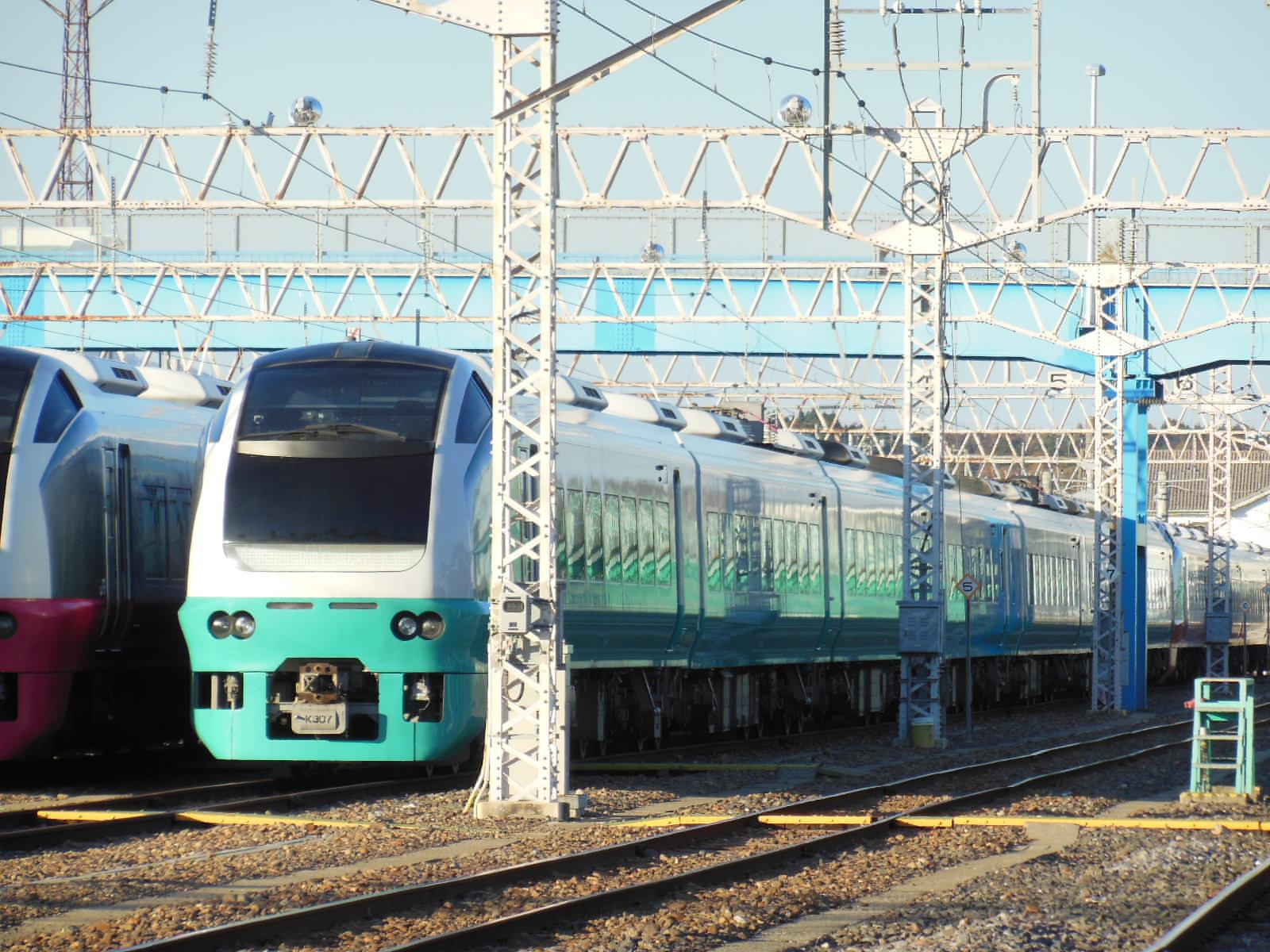 E653系651系高萩疎開 11・23 (8)