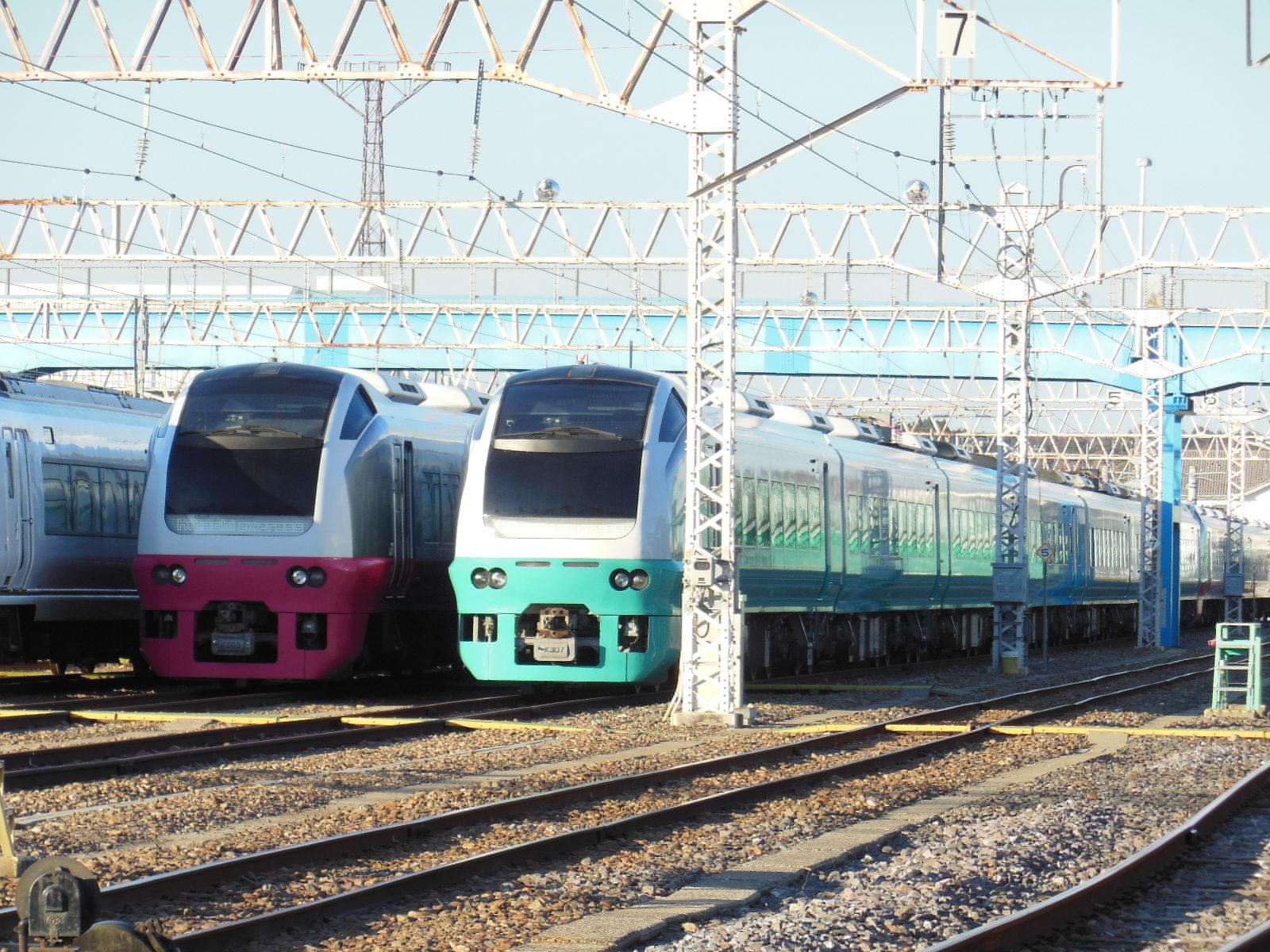 E653系651系高萩疎開 11・23 (3)