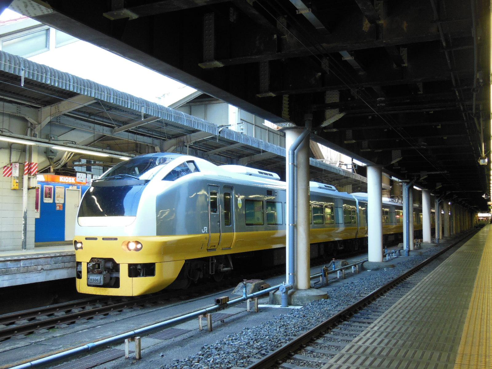 E653系K306(黄) 新潟疎開 上野 (5)
