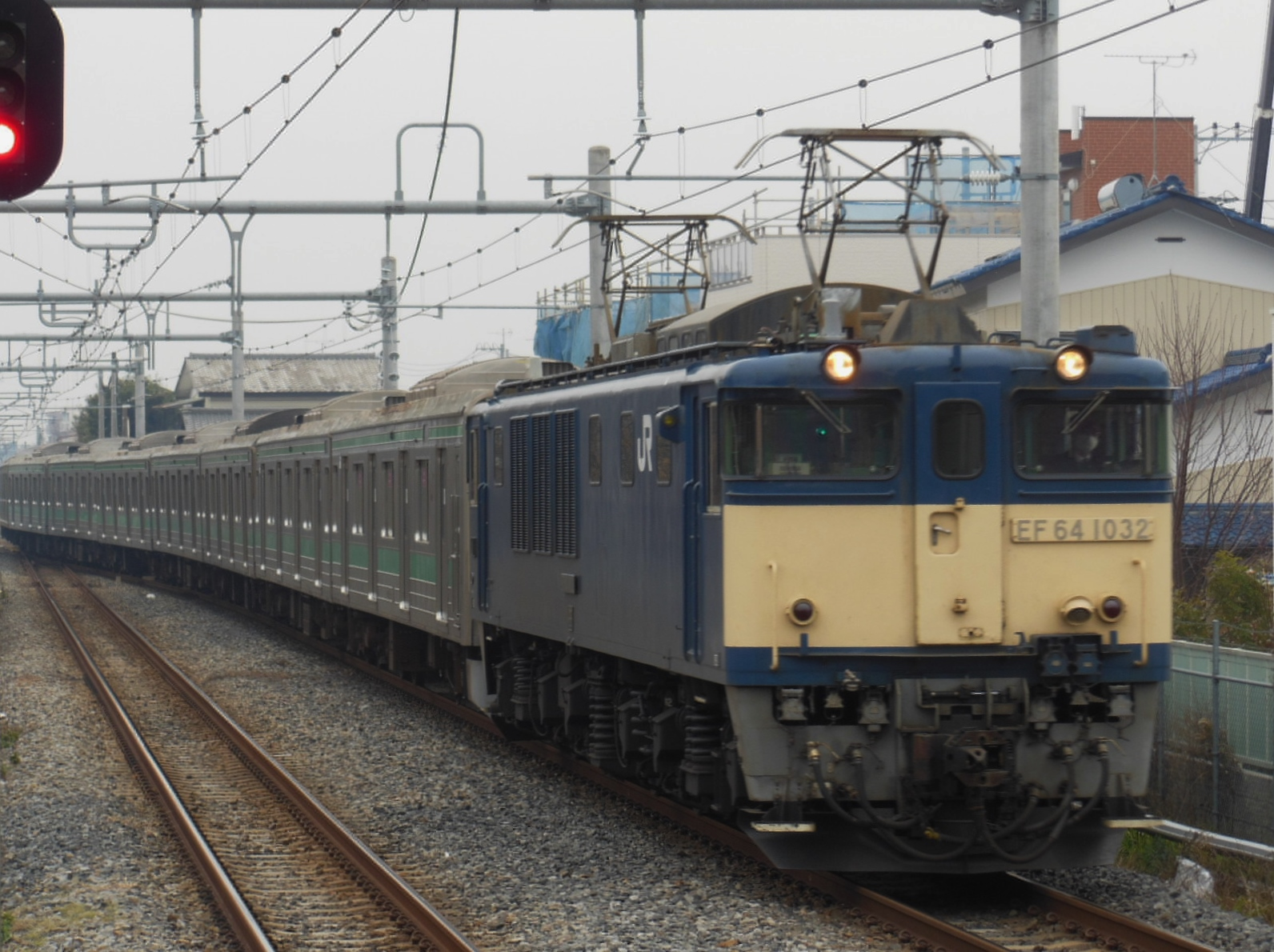 205系ハエ車 NN配給 西大宮 (3)