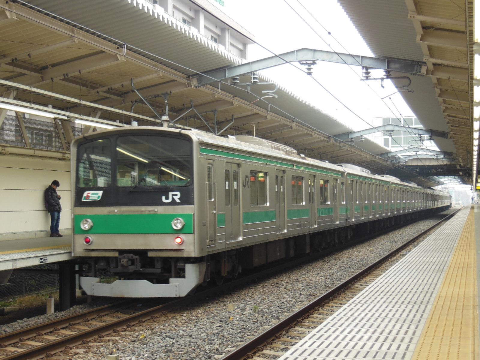 205系ハエ車 NN配給 西大宮 (5)