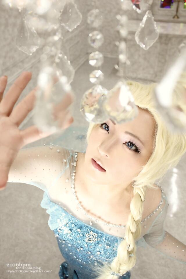 ☆愛乃甘味(エルサ/アナと雪の女王)@Booty東京☆