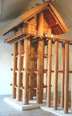 出雲大社 古代復元