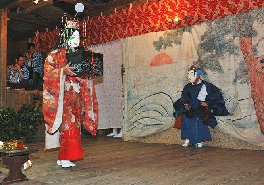 浦島太郎と乙姫様 1