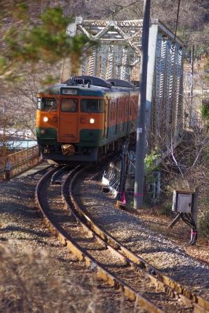 吾妻線 115系