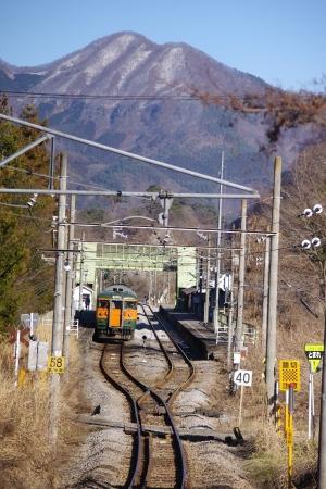 川原湯温泉駅 115系