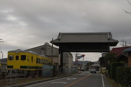大多喜駅 いすみ350
