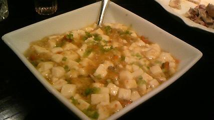 秀恵 上海蟹みそ入り豆腐の旨煮