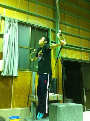 十字懸垂2011年11月4日