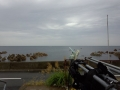 嵐の前長須浜