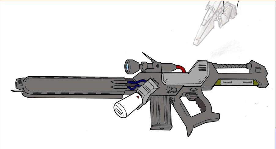 手持ち武器(試し塗り)