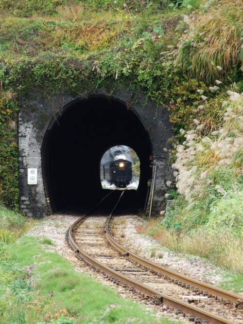2012/11/11飯山線(越後岩沢-下条)楢山トンネル