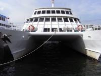 カタマラン客船縮小