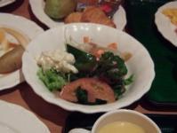 8/10 朝食 サラダを追加  奈良プラザホテル