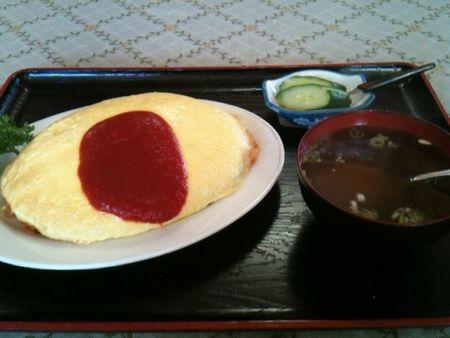七福食堂オムライス