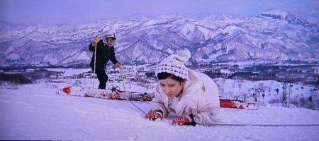 小百合のスキー