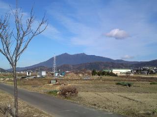 筑波山近い