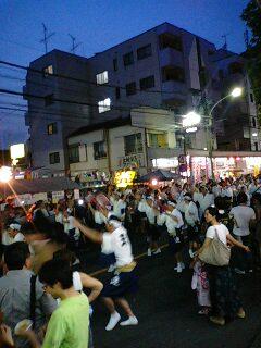 新中野・なべよこ夏祭り