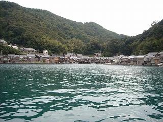 伊根の舟屋(1)