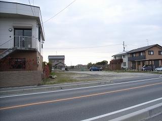 松名の敷地