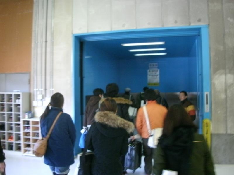 カイカイキキ三芳スタジオエレベーター