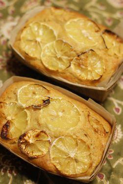 マクロビレモンケーキ