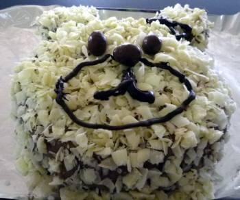 クマのケーキに見えるかな・・・・