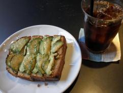 雨林舎5 アボカドと柚子みそチーズトースト