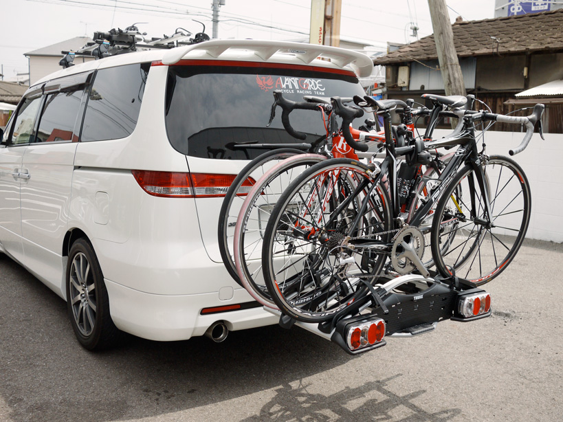 自転車の 自転車 キャリア 背面 : スポーツ自転車店 ...
