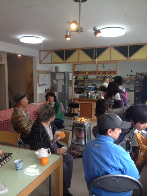 気仙沼ホープカフェ室内