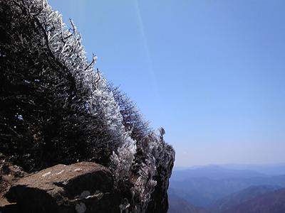 石鎚の樹氷