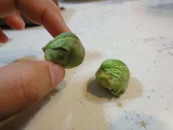 芽キャベツ1