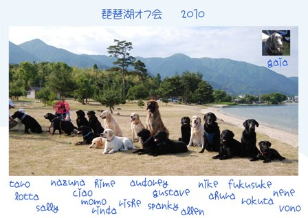 琵琶湖オフ会集合
