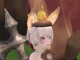 ひよこ帽子♪
