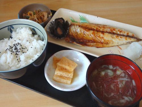 塩サバ焼魚定食