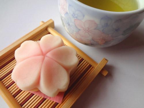 上生菓子サクラ