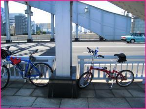 東京シティサイクリング2009 勝鬨橋