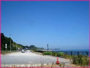 日立バイパス 海の上の道路
