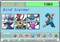 TORO トレーナーカード2
