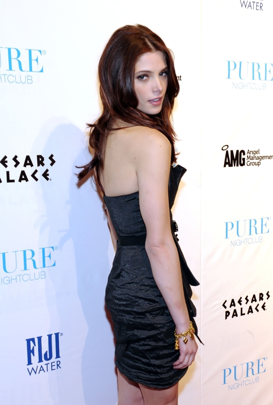 Ashley Greene Celebrates Her 24th Birthday at Pure