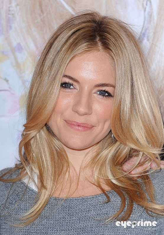 Sienna Miller and her Sister at their Clothing Launch in London