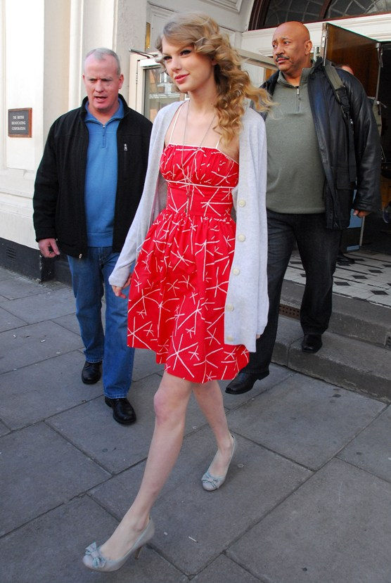 March 21 - Leaving the BBC Maida Vale studios in London